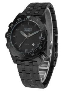 Wasserdichte Uhren: SHARK ARMY Herren Armbanduhr Wasserdicht