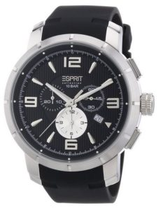 Esprit Herren-Armbanduhr XL Männer Uhren Kunststoff