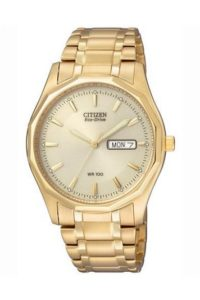 Uhr gold: Citizen Herren-Armbanduhr Analog Quarz