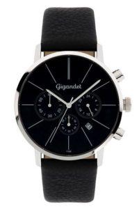 Gigandet Herren-Armbanduhr Minimalism Männer Uhren Leder