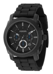 FOSSIL Herren-Armbanduhr Männer Uhren Kunststoff