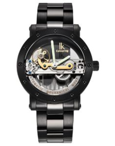 Mechanische Armbanduhr: Alienwork IK mechanische Automatikuhr Skelett