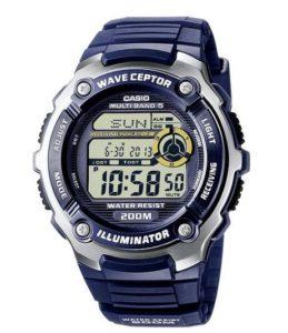 Wasserdichte Uhren: Casio Funkuhren Herren-Armbanduhr Digital Quarz