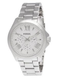 Wasserdichte Uhren: Fossil Damen-Armbanduhr Analog Quarz Edelstahl