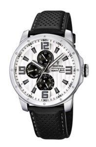 Festina Herren-Armbanduhr Männer Uhren Leder